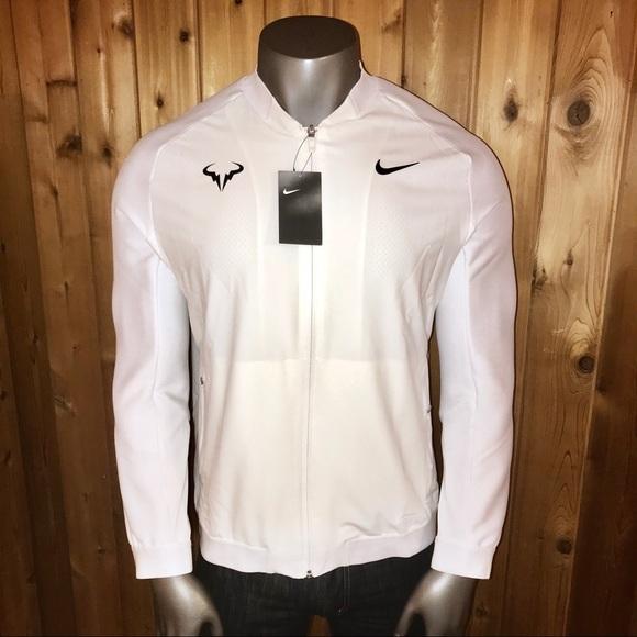 Nike Jackets Coats Premier Rafael Nadal Mens Large Tennis Jacket Poshmark